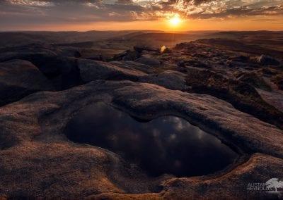 SprocknRoll Stannage Edge Rock pool Sunset _MG_2887_750